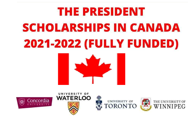 Fully Funded Scholarships in Canada 2021